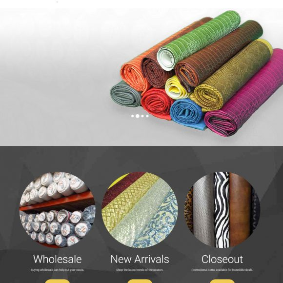 Fabric Retail Website BigZfabric.com